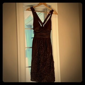 Adrianna Patel Boutique Dress- brown